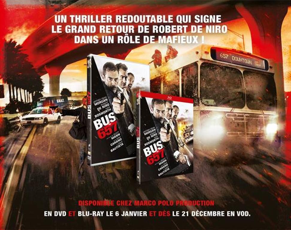 BUS 657 - photo Visuel sortie DVD Bluray VOD France Marco Polo Production Robert de Niro - Go with the Blog