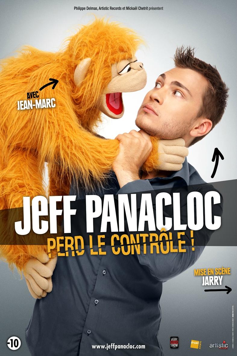 JEFF PANACLOC et Jean-Marc - Jeff Panacloc perd le contrôle AFFICHE - Go with the Blog