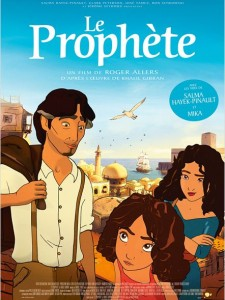 LE PROPHÈTE - affiche du film 2015 Mika Salma Hayek Pathé Distribution - Go with the Blog