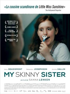 MY SKINNY SISTER - Affiche du film Suédois 2015 Urban Distribution - Go with the Blog
