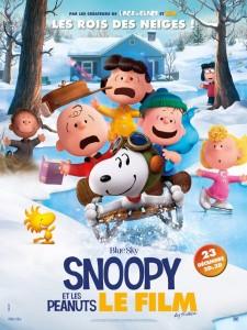 SNOOPY ET LES PEANUTS - Affiche Les Rois des Neiges - Go with the Blog