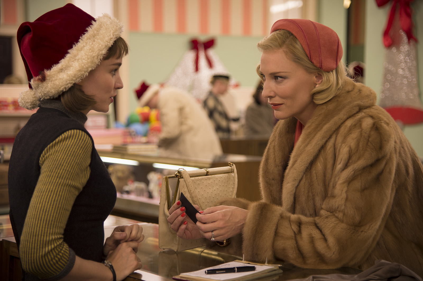 CAROL - Image du film 5 Cate Blanchett Rooney Mara - Go with the Blog