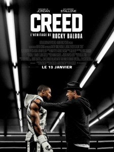 CREED - Affiche officielle France Stallone Warner Bros France - Go with the Blog