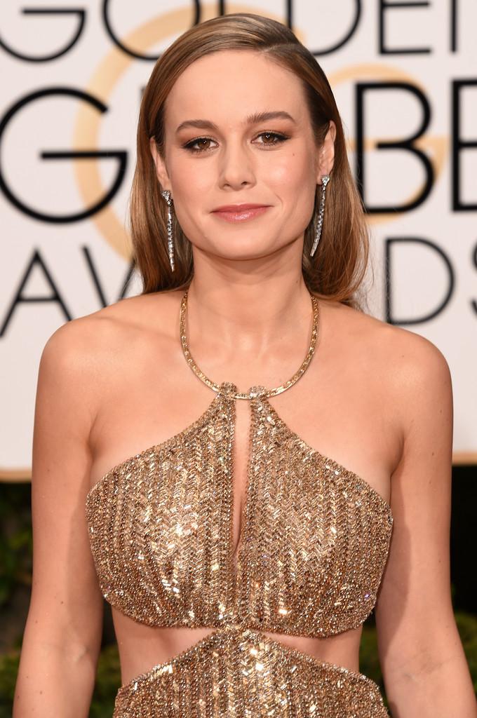 GOLDEN GLOBES 2016 - Brie Larson en Calvin Klein 1