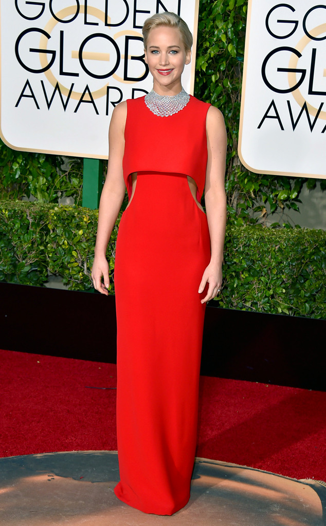GOLDEN GLOBES 2016 - Jennifer Lawrence en Dior