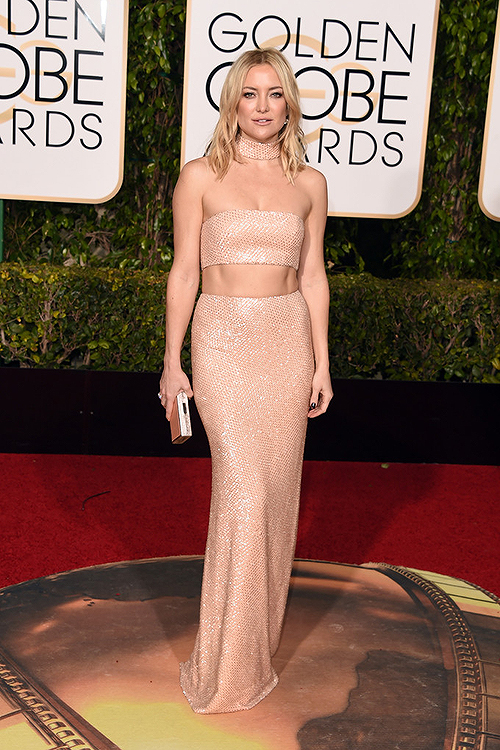 GOLDEN GLOBES 2016 - Kate Hudson In Michael Kors Collection