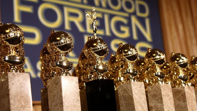 GOLDEN GLOBES 2016 - trophées