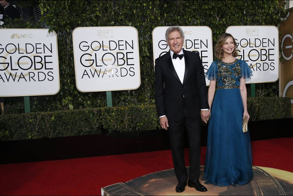 GOLDEN GLOBES - Harrison Ford Calista Flockhart