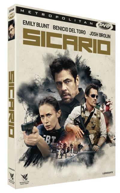 SICARIO - Visuel DVD France sortie DVD février 2016 - Go with the Blog