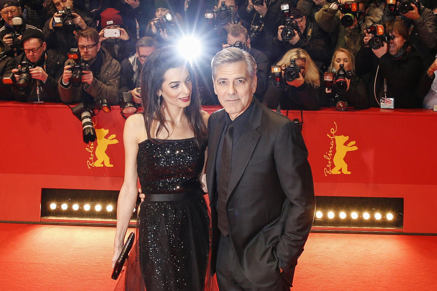 BERLIN - Berlinale 2016 George Clooney Ave Caesar red carpet tapis rouge 2016 - Go with the Blog