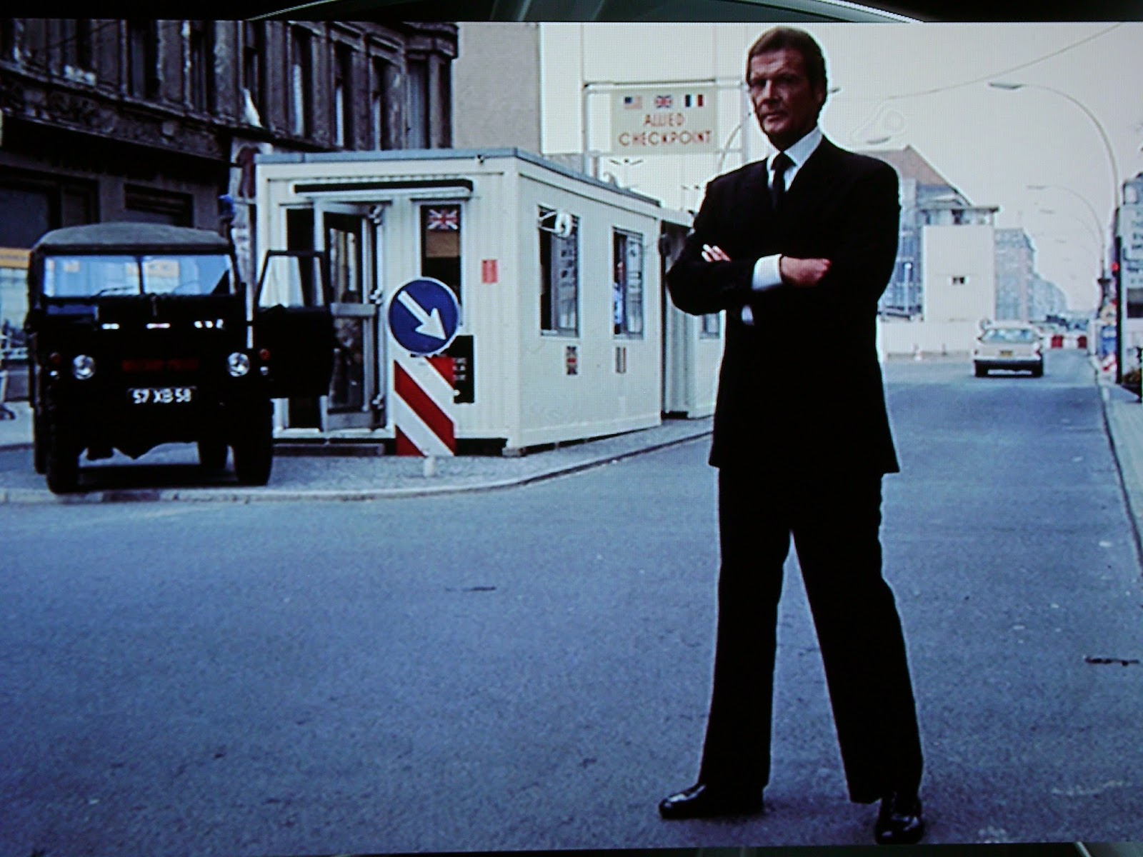 BERLIN - Berlinale James Bond OCTOPUSSY at Checkpoint Charlie 1983 - Go with the Blog