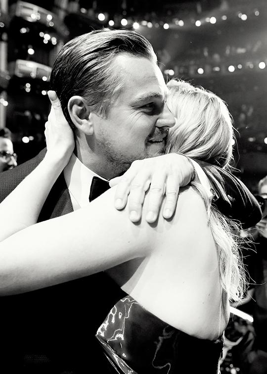 OSCARS 2016 - Leonardo DiCaprio Receiving his Oscar 5 The Revenant Climate Change - Go with the Blog