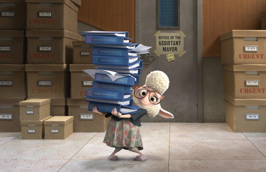 ZOOTOPIE - Image 4 du film Disney Zootopia movie - Go with the Blog