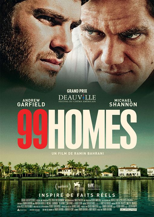 99 HOMES - affiche déf FR Andrew Garfield Michael Shannon - Go with the Blog