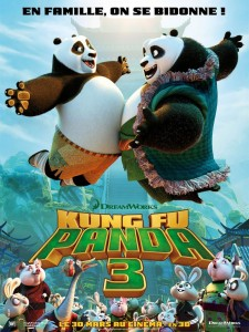 KUNG FU PANDA 3 - Affiche France Dreamworks film movie picture - Go with the Blog