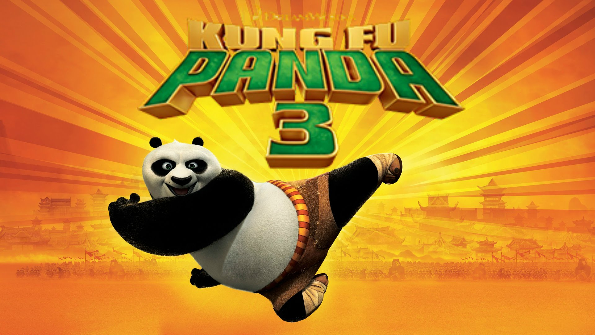 KUNG FU PANDA 3 - Image du film movie picture 1 - Go with the Blog