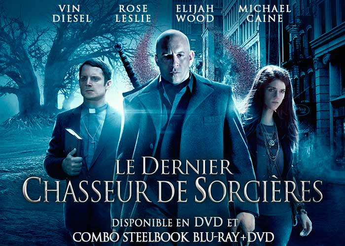 LE DERNIER CHASSEUR DE SORCIÈRES - Visuel Sortie Bluray DVD Steelbook VOD Mars 2016 copyright La Jungle - Go with the Blog