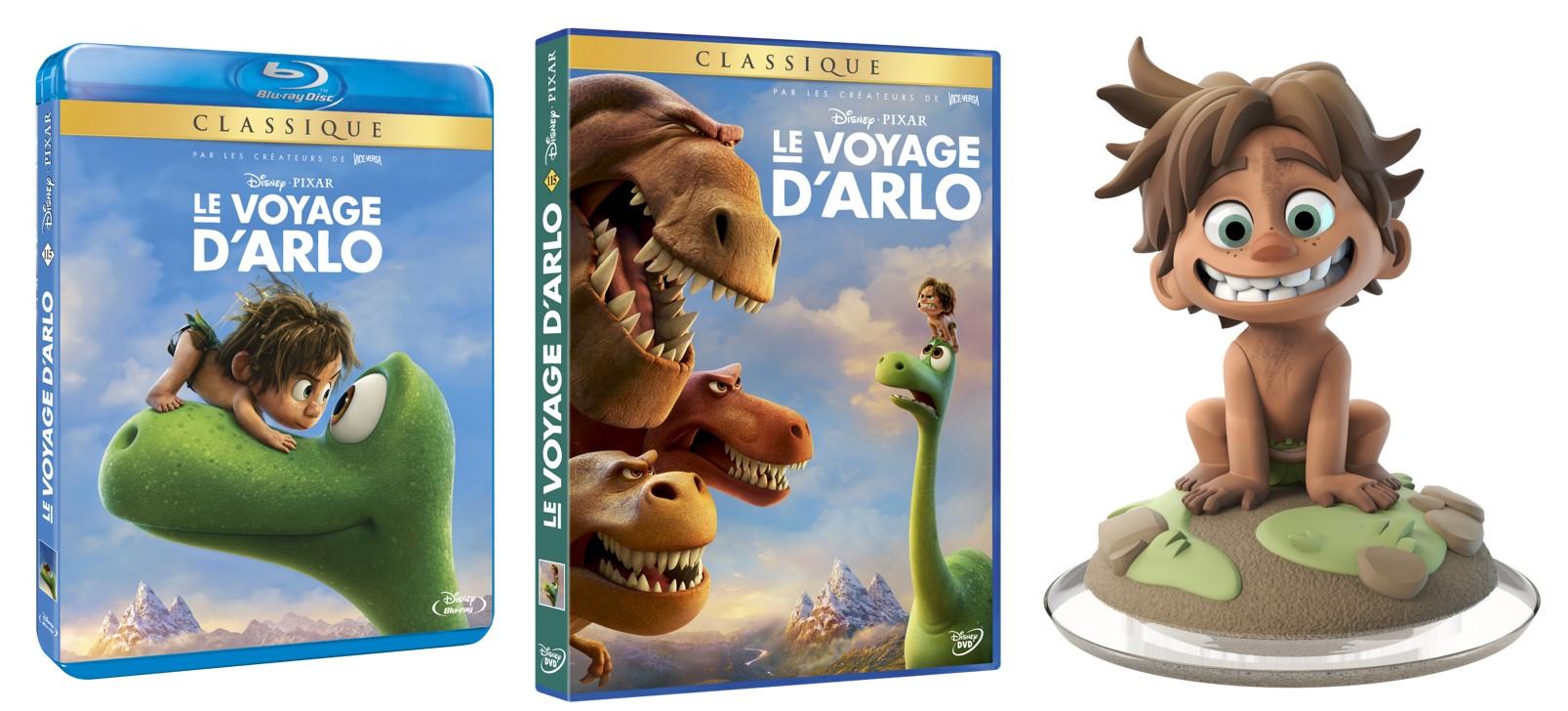 LE VOYAGE D'ARLO - Visuel Concours TOUTES DOTATIONS Sortie BR DVD - Go with the Blog