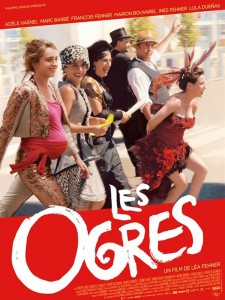 LES OGRES - Affiche du film 2016 Adèle Haenel - Go with the Blog