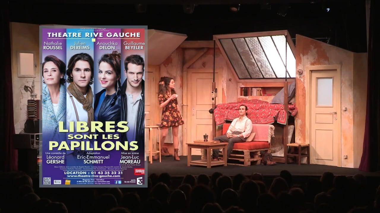 LIBRES SONT LES PAPILLONS - Photo 1 Théâtre 2016 Théâtre Rive Gauche - Go with the Blog