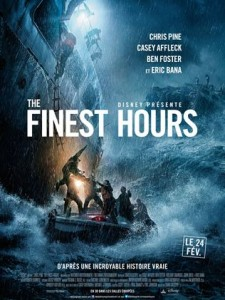 THE FINEST HOURS - Affiche du film Disney 2016 Chris Pine Casey Affleck - Go with the Blog