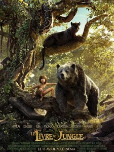 LE LIVRE DE LA JUNGLE - Affiche FRANCE Disney The Jungle Book 2016 Favreau - Go with the Blog