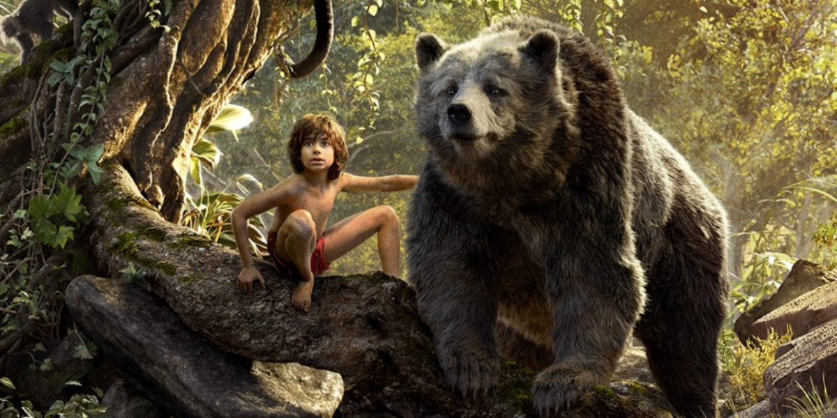 LE LIVRE DE LA JUNGLE - Image Mowgli Baloo 2 Disney The Jungle Book 2016 Favreau - Go with the Blog