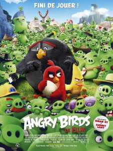 ANGRY BIRDS - Affiche du film 2016 Sony Pictures movie - Go with the Blog