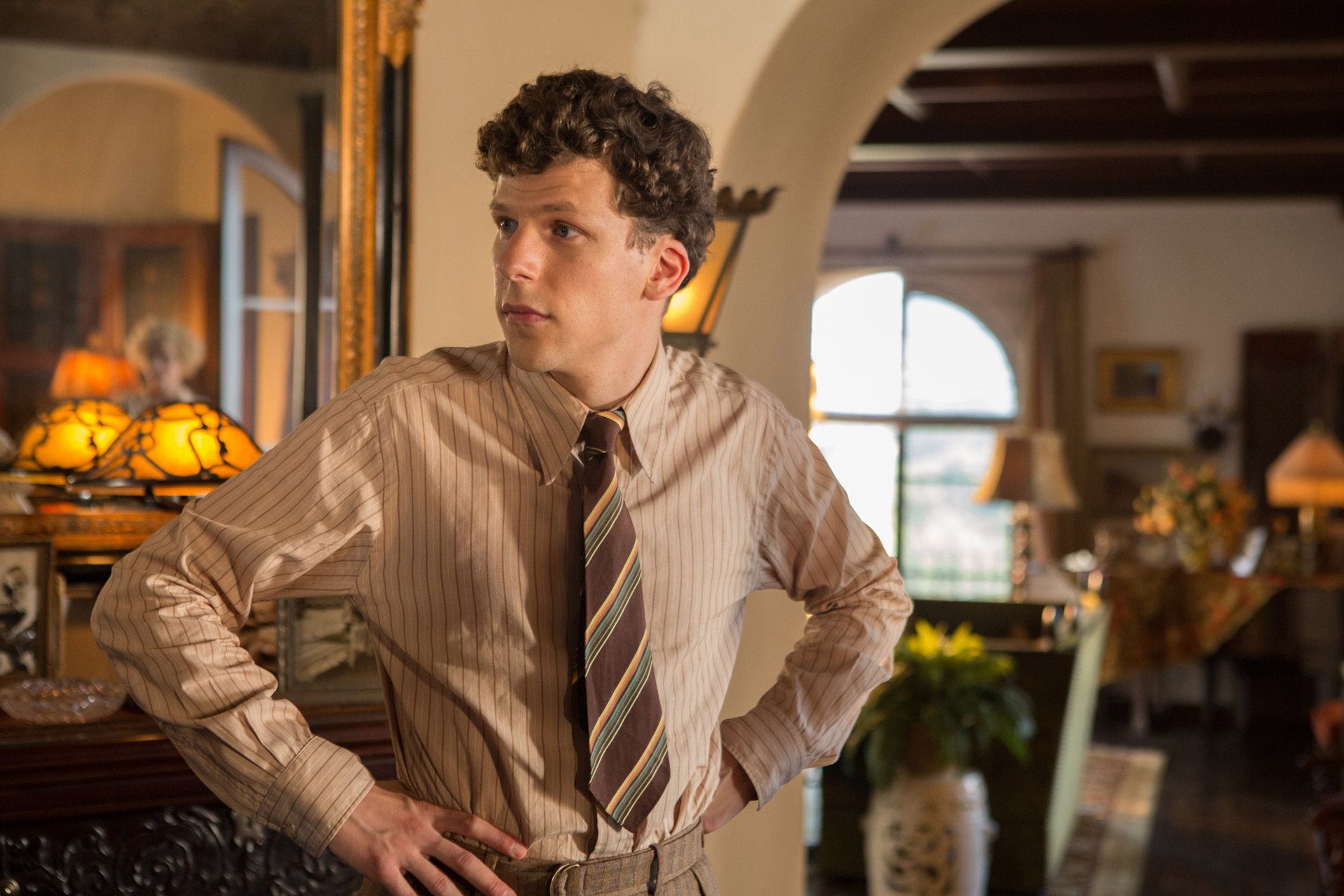CAFÉ SOCIETY - Image 4 du film Eisenberg Kristen Stewart Woody Allen - Go with the Blog