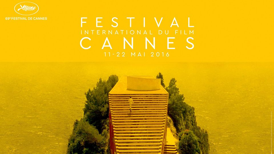 CANNES 2016 - Affiche officielle gros plan texte Official Poster 3 - Go with the Blog