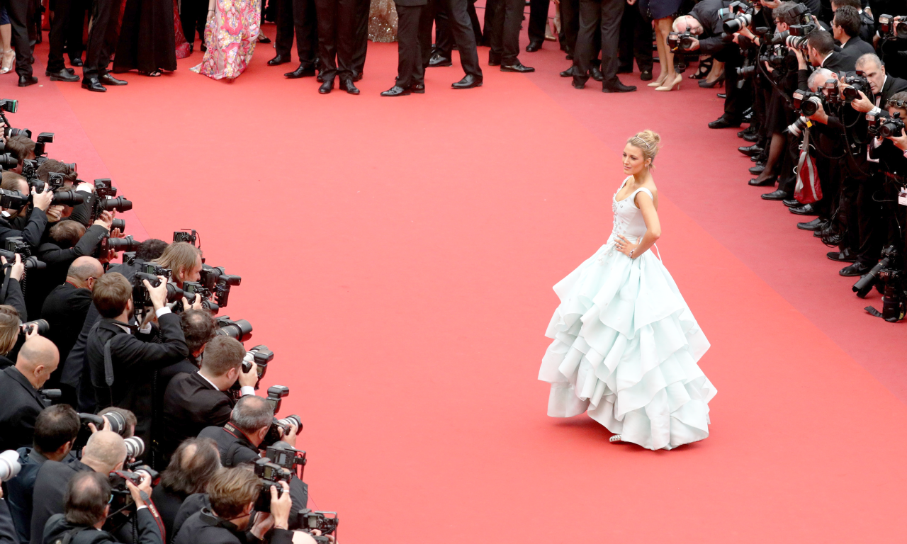 CANNES 2016 - Blake Lively photo marches 2