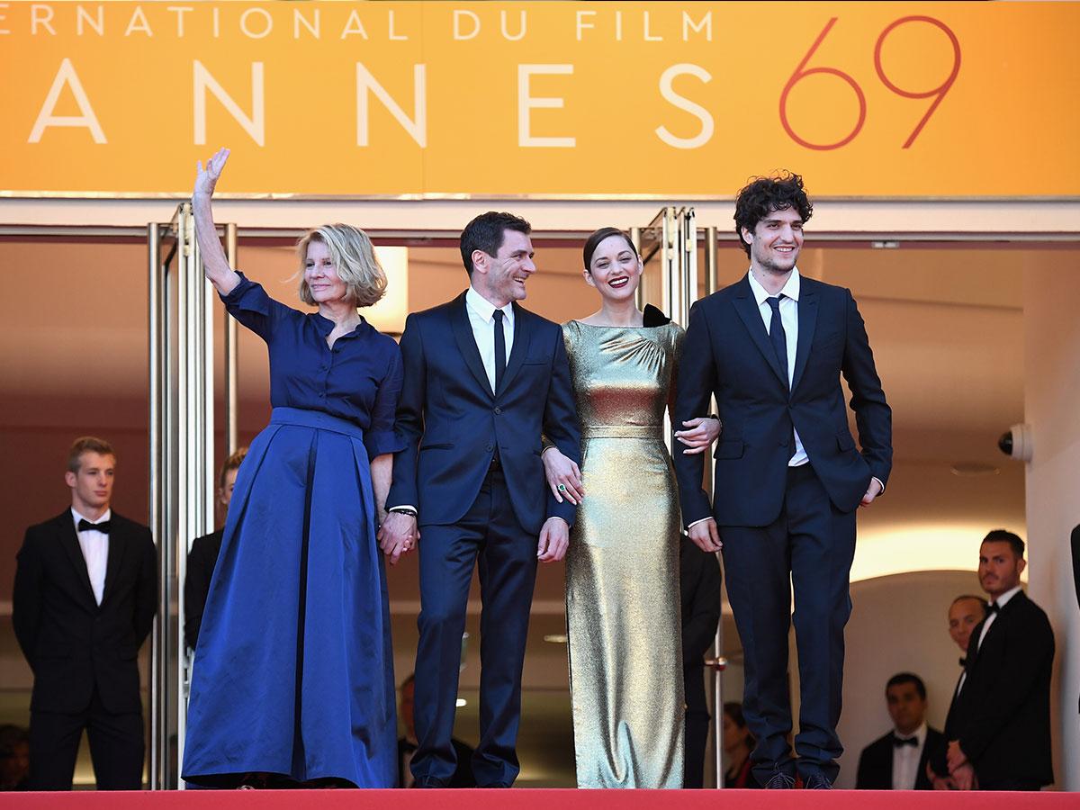 CANNES 2016 - DAY 5 MAL DE PIERRES montée des marches Marion Cotillard Dior 9