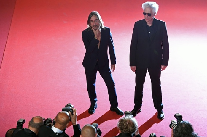 CANNES 2016 - DAY 9 GIMME DANGER Jim Jarmush Iggy Pop montée des marches 2