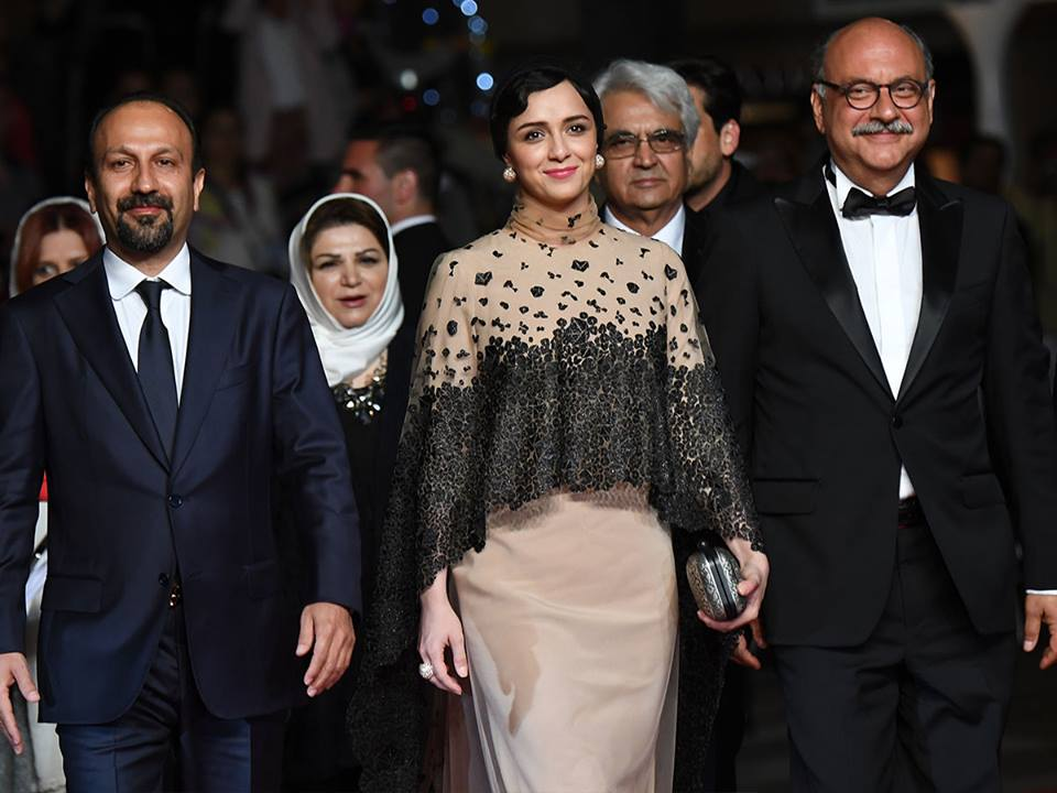 CANNES 2016 - FORUSHANDE LE CLIENT Farhadi red carpet 1