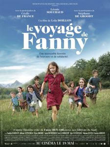 LE VOYAGE DE FANNY - Affiche du film Lola Doillon 2016 - Go with the Blog