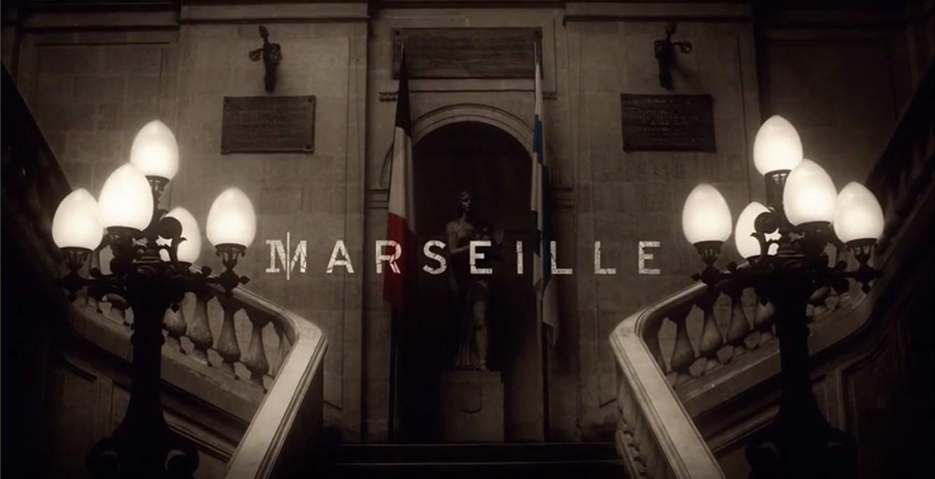 MARSEILLE Netflix Série TV télévision - Image Du Générique 5 Depardieu Magimel Marseille Farès 2016 - Go with the Blog