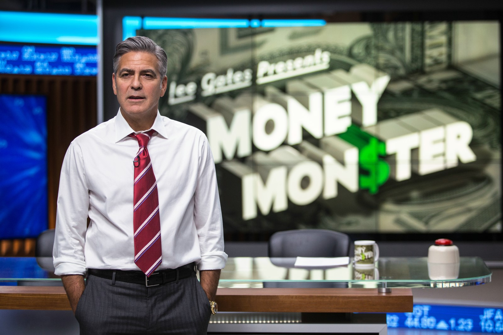 MONEY MONSTER - Image du film 1 George Clooney Julia Roberts - Go with the Blog