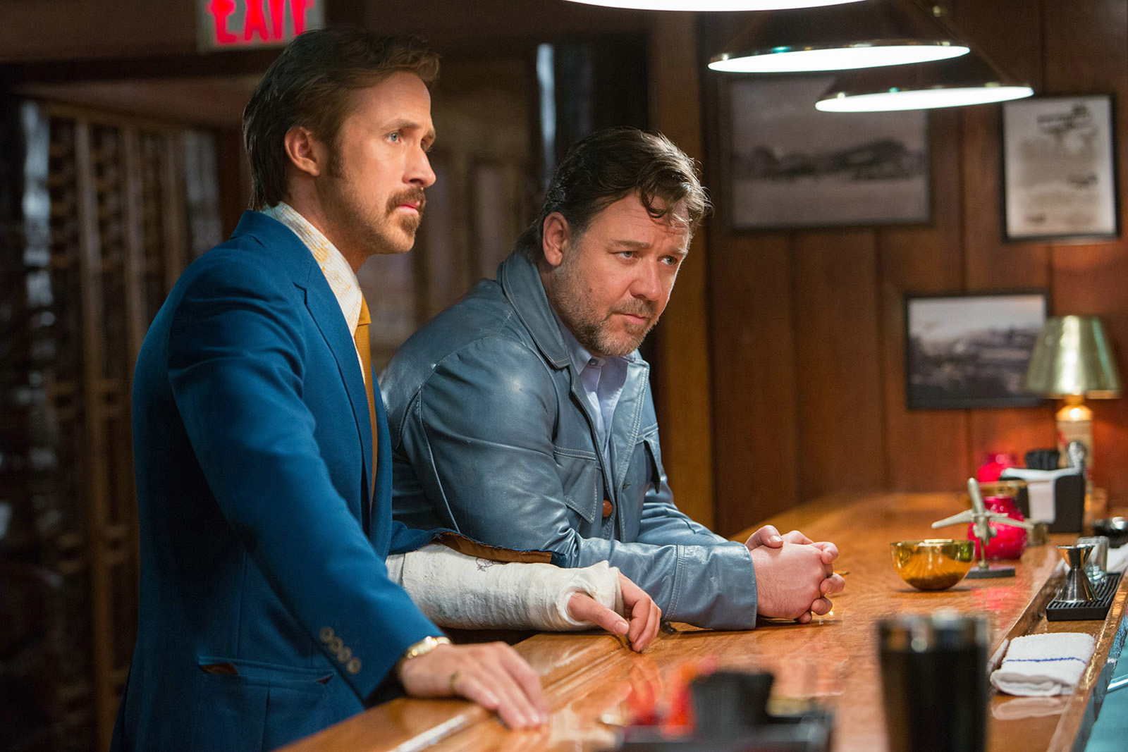 THE NICE GUYS - Image 16 Russell Crowe Ryan Gosling 2016 - Go with the Blog