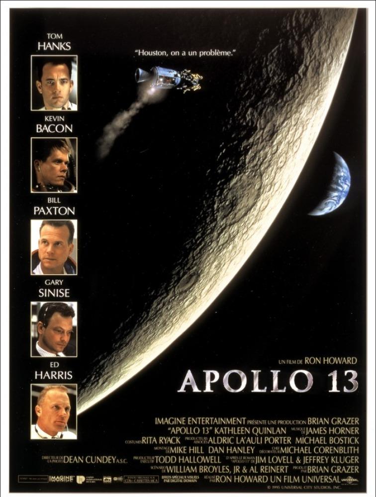 APOLLO 13 HOUSTON ON A UN PROBLEME Affiche France Ron Howard film