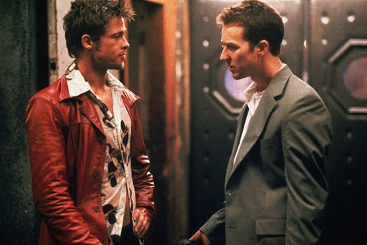 FIGHT CLUB - Image film Edward Norton Brad Pitt - Go with the Blog