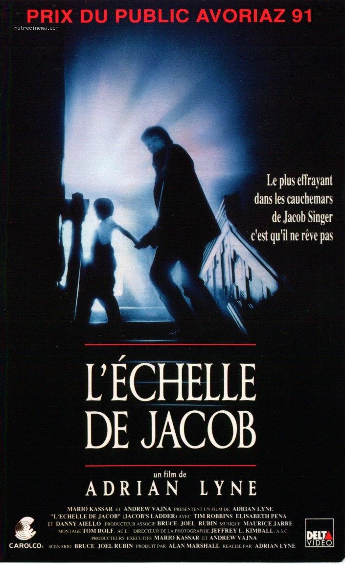 LÉ'ÉCHELLE DE JACOB Accroche film Affiche France Tim Robbins