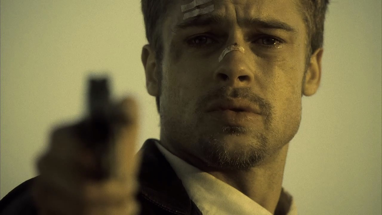 SE7EN - Image film Brad Pitt last scene - Go with the Blog