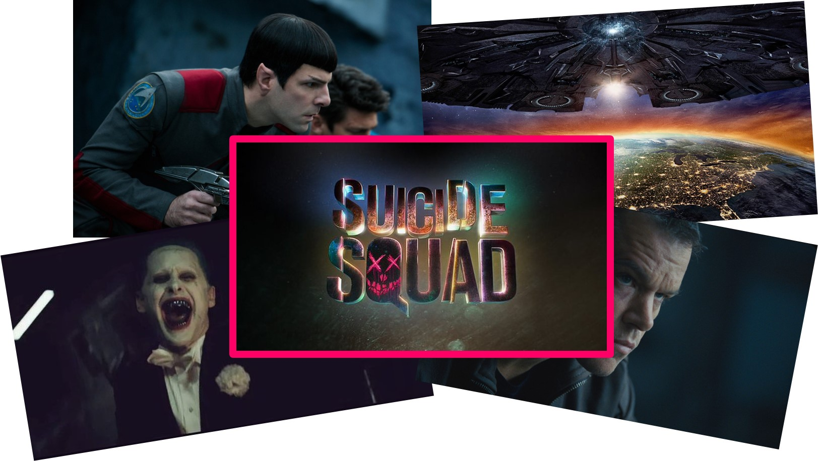BLOCKBUSTERS 2016 - VISUEL Sondage Go with the Blog Résultats Finaux SUICIDE SQUAD - copyright Go with the Blog