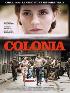 COLONIA - Affiche FR officielle Emma Watson Rezo Films 20 juillet 2016 - Go with the Blog