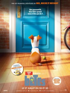 COMME DES BÊTES - AFFICHE FR Déf The Secret Life Of Pets Illumination Entertainment Mac Guff Movie film 2016 - Go with the Blog