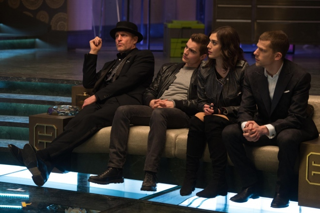 INSAISISSABLES 2 - NOW YOU SEE ME 2 Image 13 du film Eisenberg Harrelson Caplan Dave Franco - Go with the Blog