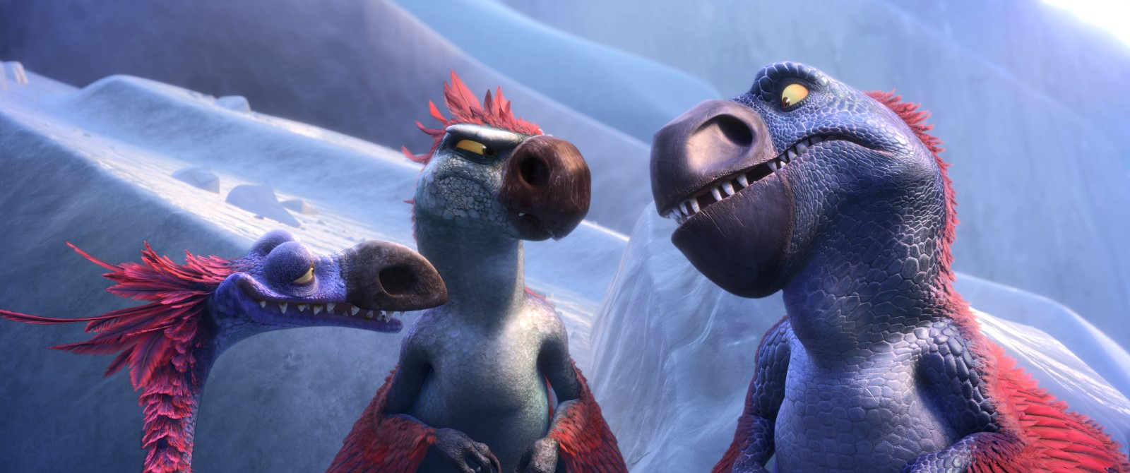 L'ÂGE DE GLACE LES LOIS DE L'UNIVERS - Image 11 du film Saga Ice Age 2016 Blue Sky Scrat Sid Mango - Go with the Blog