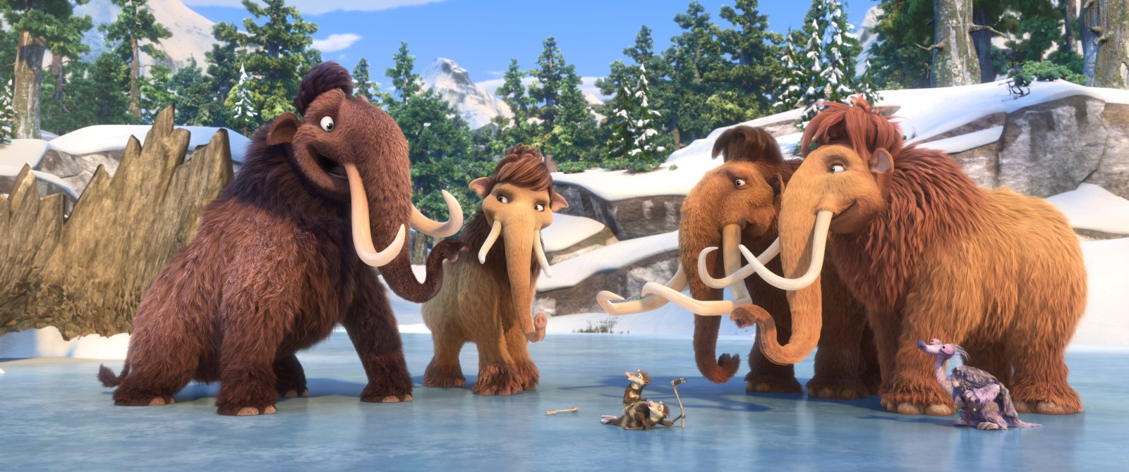 L'ÂGE DE GLACE LES LOIS DE L'UNIVERS - Image 19 du film Saga Ice Age 2016 Blue Sky Scrat Sid Mango - Go with the Blog