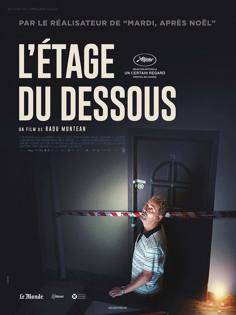 L'ÉTAGE DU DESSOUS - Affiche France Officielle Cannes 2015 Un Certain Regard - Go with the Blog