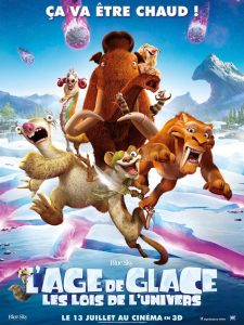 LAGE DE GLACE LES LOIS DE L'UNIVERS - go with the blog - affiche